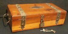 Pilliod Swanton Ohio Vintage Cedar Box with Mirror