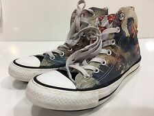 Converse All Star Hi Top Graffiti Superman Comics Sneaker Shoes Men's 5  Wo's 7