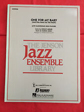 One For My Baby, arr. Frank Mantooth(Alto Sax Feature), Big Band