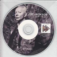 JOE JACKSON If It Wasn't For You 2015 German 1-track promo CD Radio Single