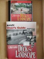 Ultimate Deck & Landscape, Punch Software