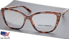 NEW D&G Dolce & Gabbana DG 3280 3131 CUBE BRONZE EYEGLASSES 54-15-140 B40 Italy
