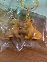 porte clé Disneyland Paris Simba Nala Keychain Roi Lion Lion King
