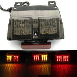 Smoke Brake Tail Light Integrated Turn Signals For 1994-2003 Ducati 748 916 996