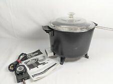 Vintage Presto Kitchen Kettle Electric Cooker 6 Qt. Fryer Model 0600004 (bldgme)