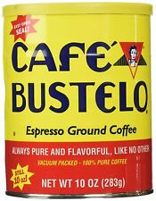 Cafe Bustelo 00050 Espresso 10 oz Ground Coffee in Can