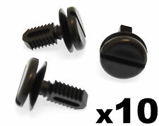10x BMW Plastic Trim Clips Dash covers, shields, boot linings & battery covers