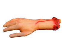 Realistic Life Sized Severed Gory Bloody Arm Body Parts Halloween Haunted Decor