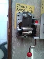 1 carillon a manovella musica torna a surriento presepe minuterie crib shereped