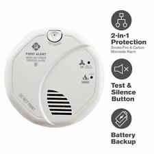 First Alert Smoke Detector and Carbon Monoxide Detector Alarm | Hardwired