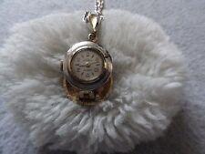 Hampden 17 Jewels Shock Resistant Wind Up Necklace Pendant Watch