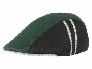 Kangol Men's Star Stripe 507 Flat Cap Hat