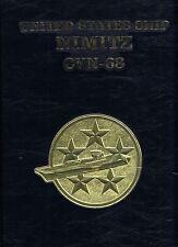 ☆* USS NIMITZ CVN-68 WESTPAC INDIAN OCEAN DEPLOYMENT CRUISE BOOK YEAR 1988-89 *☆