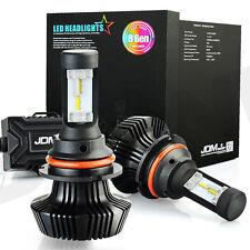 JDM ASTAR 2X 9004 7000lm 6500K Xenon White LED Headlight Kit Hi/Lo Beam Bulb