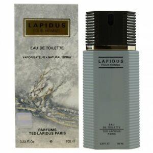 Ted Lapidus Pour Homme Eau De Toilette Hommes Neuf 100 ml