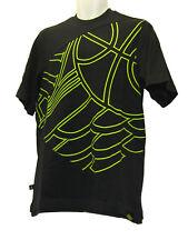 Nuevo Nike Vintage Jordan Baloncesto Manga Corta Suéter Camiseta azul oscuro M