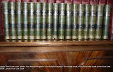 Martin Histoire de France 16 vol + Tables Gravures reliure cuir bibliophilie