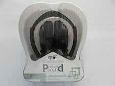 CUFFIA STEREO PIEGHEVOLE PER IPOD,IPHONE 4/4S ,IPAD, MP3,MP4,COLORE NERO
