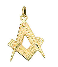 Masonic Pendant Yellow Gold Made To Order in Jewellery Quarter B'ham