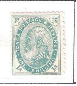 Tonga: 1886; Scott 5, mint, original gum, hinged. EBTO003