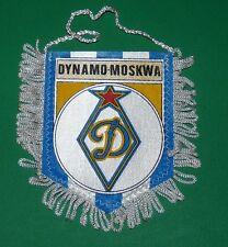 FOOTBALL FANION WIMPEL PENNANT DYNAMO MOSKWA MOSCOU URSS SSSR CCCP