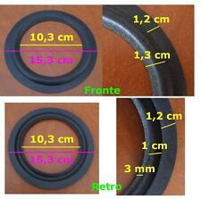 Coppia Sospensioni Riconatura Casse Loudspeakers 15 cm