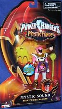 """Power Rangers Mystic Force Pink Mystic Sound Ranger New 5"""" Factory Sealed 2006"""