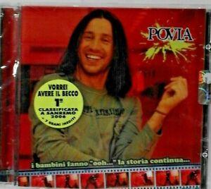 """POVIA - I bambini fanno """"ooh"""" - La Storia Continua  (CD nuovo sigil /Jewel case)"""