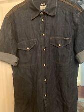 100% Authentic D&G Vintage Denim Shirt XXXL