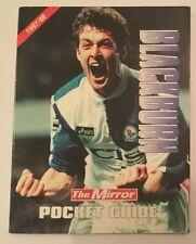 BLACKBURN ROVERS FC The Mirror Football Premier League Pocket Guide 1997-98