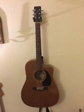 Hand crafted Simon and Patrick Acoustic guitar with hard case included.