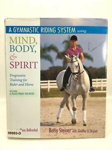 GYMNASTIC RIDING SYSTEM MIND BODY & SPIRIT Horse Equine Equestrian SC BOOK
