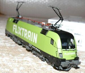 HS Jägerndorfer  28182 E-Lok  BR 182Taurus FLIXTRAIN  D/c  Sound