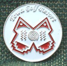 "RARE_Limited Edition_ TOWA Golf Resort 1"" Ni-Silver Plated Ball Marker"