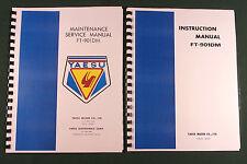 """Yaesu FT-901DM Service & Instruction Manuals: 17"""" Foldout Diagrams & 32LB Paper"""