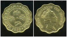 HONG KONG 20 cents 1989  ( bis )