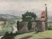 André René ALBAREDE HST Peinture Paysage Sud Ouest Tarn Aveyron