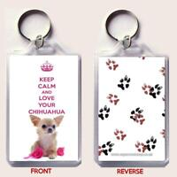 KEEP CALM and LOVE YOUR JACK RUSSELL Keyring Unique Christmas//Birthday Gift idea