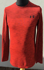 UNDER ARMOUR HEATGEAR LONG SLEEVE FITTED TOP,SMALL