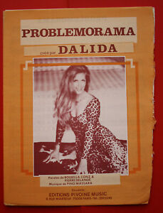 Dalida Patition . Problemorama . Rare .