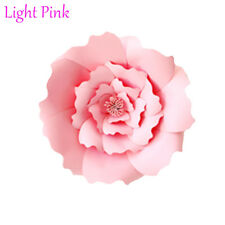 20/30cm DIY Paper Flowers Backdrop Decor Kid Birthday Party Wedding Favor Light Pink 1pcs-30cm