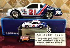 1//64th Waterslide Decals #21 Buddy Baker Valvoline Thunderbird Wood Bros