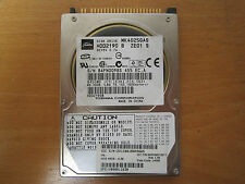 Toshiba 40GB IDE 2.5 Laptop Hard Disk Drive HDD MK4025GAS (I135)