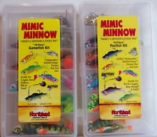 Northland Mimic Minnow Gamefish and Panfish kits 42 pieces total