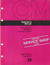 John Deere JD450-C Crawler Loader Operator's Manual