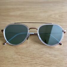 Authentic Thom Browne TB-801-G Rose Gold & Crystal Acetate - £550+