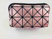 Anastasia Beverly Hills Pouch Make Up Cosmetic Bag Diamond Pink Geo Zipper Small
