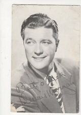 Dennis Morgan Vintage Postcard Actor 571a