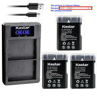 Kastar Battery LCD Charger for Nikon D5500 D5600 D3400 D3500 P7100 P7700 P7800