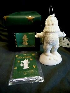 ** Dept 56 - SNOWBABIES - 2003 - CATCH a FALLING SNOWFLAKE - MINT in ORIG BOX